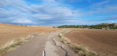 Abierto al tráfico el camino entre Arcas y Villar de Olalla