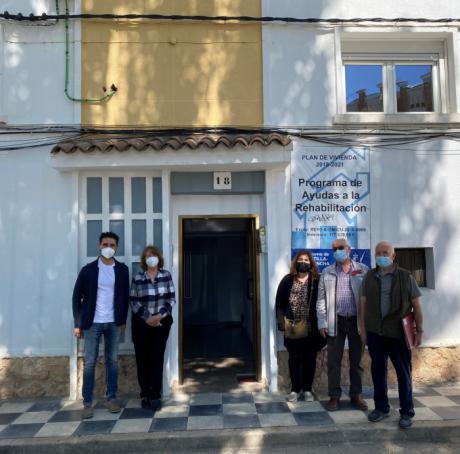 Se han concedido 41 ayudas para la rehabilitación de elementos comunes en edificios residenciales colectivos de la provincia