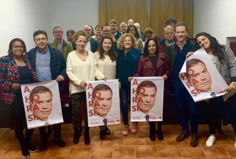"""Canales pide el voto para el PSOE """"para seguir avanzando por la senda de la justicia social, de la igualdad y del progreso"""""""