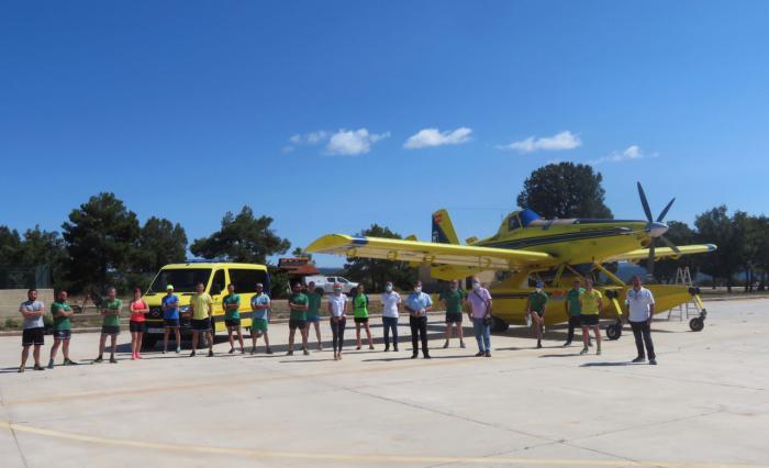 Se incrementa en diez los profesionales que trabajan en la campaña de lucha contra incendios forestales en a BIFOR de Campillos-Paravientos