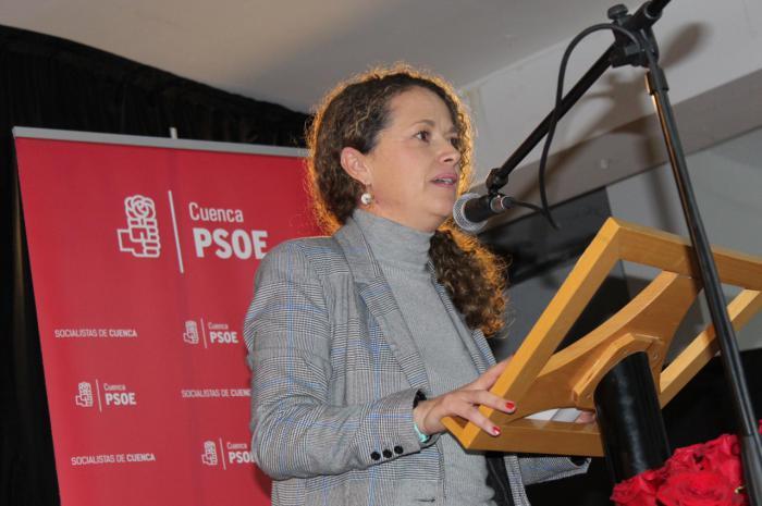 Gracia Canales, diputada socialista conquense