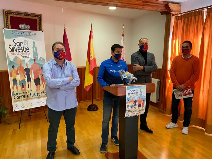 Tarancón respalda la carrera virtual ´San Silvestre Paseo de Zapatería´ a beneficio de la AECC