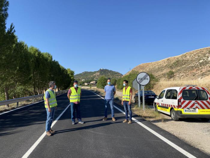 Se acometen obras de refuerzo y mejora en la CM-310 a su paso por La Peraleja