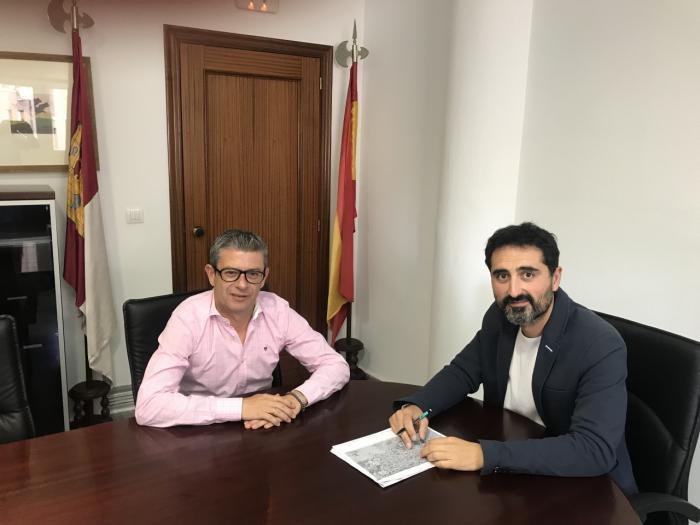 El Gobierno regional trabaja con el Ayuntamiento de Motilla del Palancar en la mejora de las carreteras de acceso al municipio.