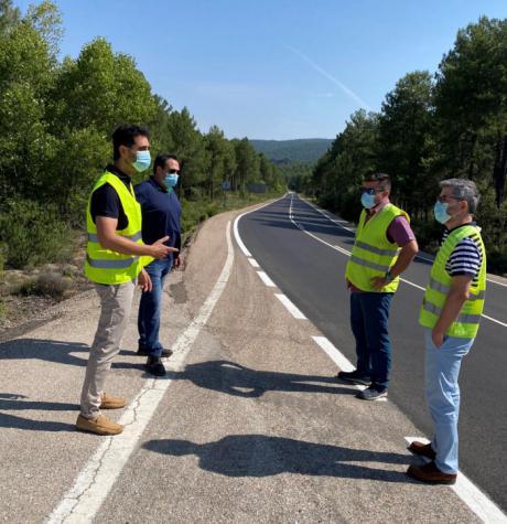La Junta acomete obras de mejora en la carretera CM-210 por un importe de casi 100.000 euros