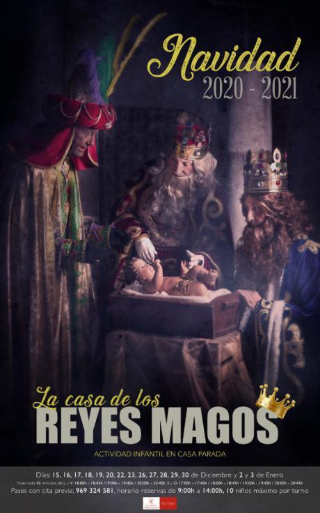La Casa Parada de Tarancón albergará la ´Casa de los Reyes Magos´ del 15 diciembre al 3 de enero
