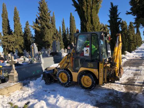 Reabierto el cementerio municipal tras las actuaciones realizadas por las consecuencias del temporal