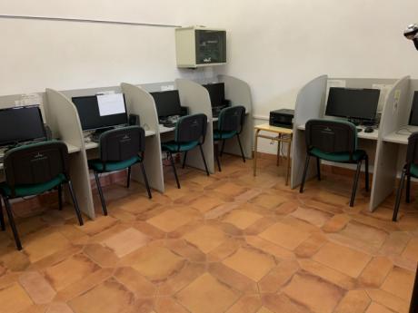 El centro de internet se ubicará en Casa Parada desde mañana