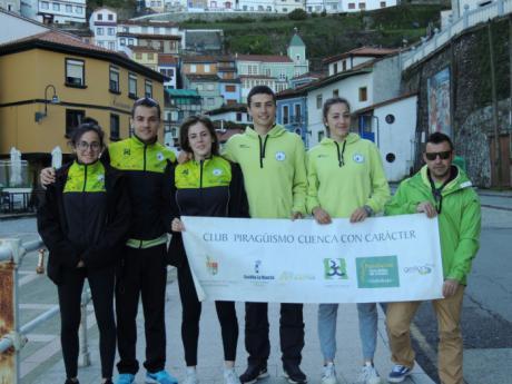 El Club Piragüismo Cuenca en la Copa de España de pista de 1000 y 500 metros