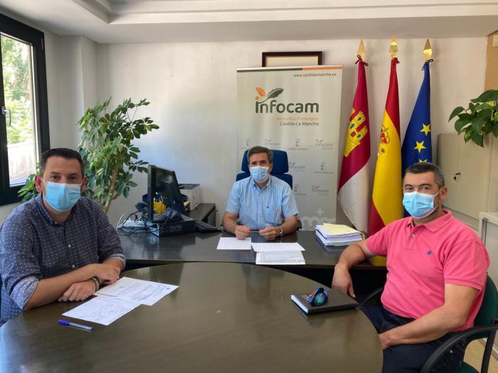 La Junta con los alcaldes de Villora y Enguidanos regular el aforo de Las Chorreras del Cabriel