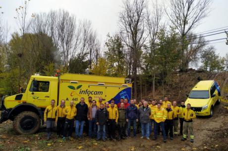 La Junta forma a los trabajadores del Plan Infocam con cursos para instructores de conducción de vehículos especializados en la prevención y extinción de incendios forestales