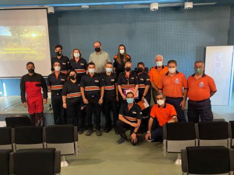 17 voluntarios de Protección Civil se forman en la búsqueda de personas desaparecidas