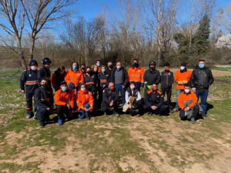 Se imparte un curso de formación básica de Protección Civil a 40 voluntarios de la provincia