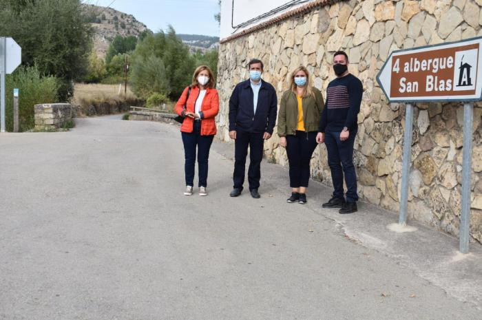 Junta y Ayuntamiento de Tragacete acometerán el arreglo del camino entre el municipio y el Albergue de San Blas