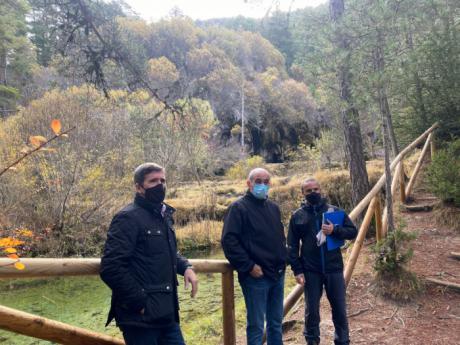 Se acometerán obras de mejora y adaptación en el Monumento Natural del Nacimiento del Río Cuervo