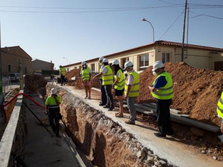 Casi 40.000 euros para la reparación de la pared del colegio de El Peral