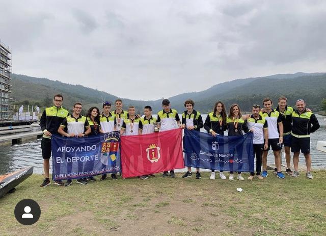 El Club Piragüismo Cuenca con Carácter Subcampeón en el Campeonato de España de Maratón Corto
