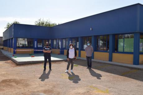El Ayuntamiento de Tarancón ha finalizado la obra de la Escuela Infantil Santa Quiteria para garantizar las medidas por la COVID-19
