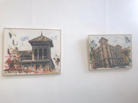 La Sala Iberia acoge la exposición ´De todo, un poco´ del artista Pedro Romero Sequí