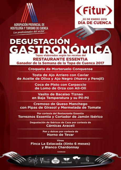 """La Agrupación Provincial de Hostelería y Turismo ofrecerá el Día de Cuenca en Fitur una degustación gastronómica de la mano del restaurante """"Essentia"""""""