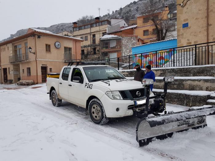"""La Diputación ha tenido trabajando durante el temporal a 55 vehículos en un dispositivo """"sin precedentes"""""""