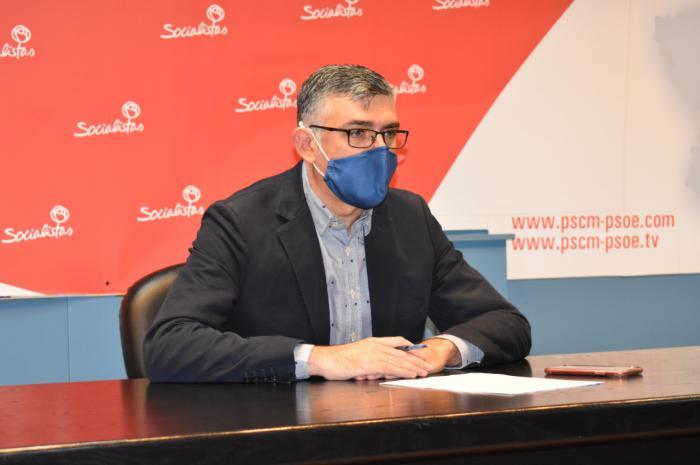 El PSOE de Cuenca agradece a Prieto su visita para comprobar cómo avanzan las obras que pararon Cospedal y él mismo