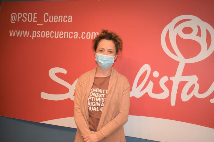 """Gracia Canales: """"Nos congratulamos de que se encuentren soluciones a las reivindicaciones del AVE frente a un PP que una vez más no aporta soluciones"""""""