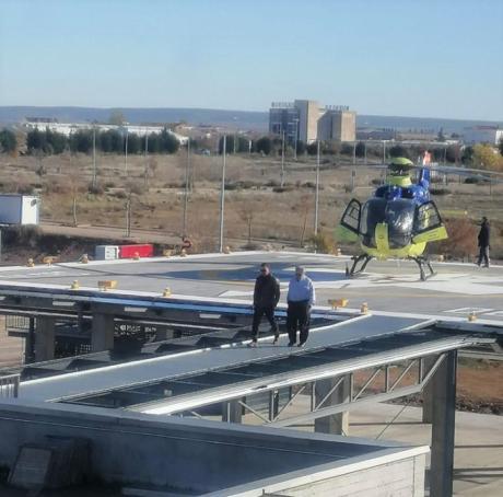 Se inician las pruebas de vuelo en el helipuerto de Tarancón