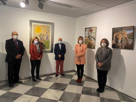 La Sala de Exposiciones de Princesa Zaida acoge la muestra ´La bacía del Quijote´ del artista Luis Soria