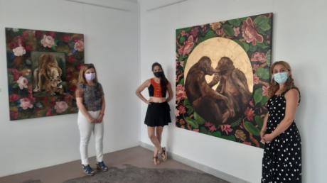 La Sala Iberia acoge la muestra ´Zootrofia´ de la artista conquense Paula Segarra hasta el próximo 29 de agosto