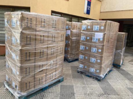 Sanidad ha enviado más de 3.200 elementos de protección al municipio de El Provencio durante la crisis sanitaria