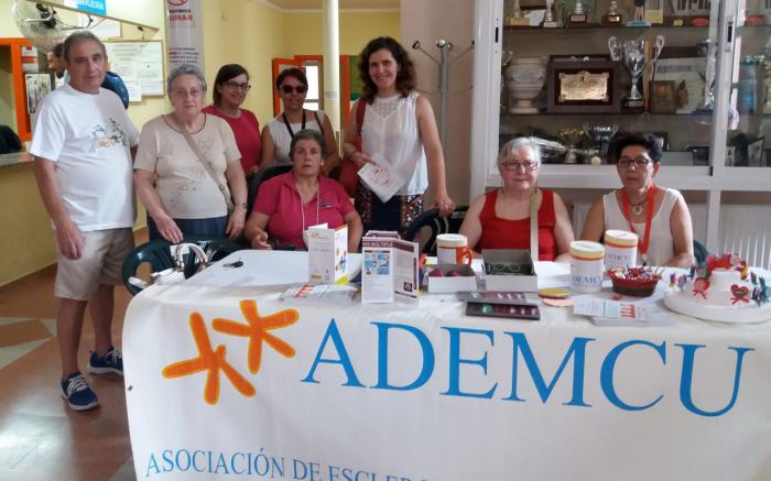 'Mójate' por la Esclerosis Múltiple junto a ADEMCU y Fundación Globalcaja Cuenca