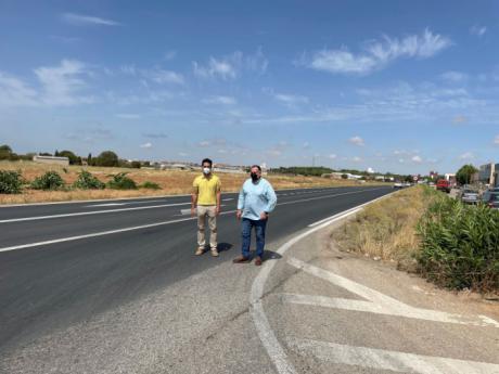 Se acometen obras de mejora en la CM-3117 a su paso por la localidad de San Clemente por importe de más de 122.000 euros
