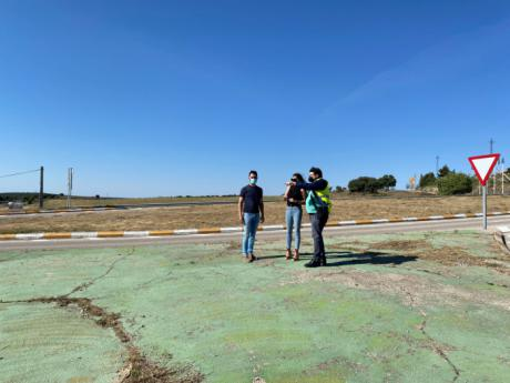 Se invertirán 206.000 euros en la construcción de una rotonda en la CM-310 a su paso por Saelices