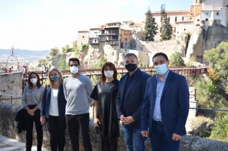 Junta, Ayuntamiento y Diputación trabajan en la promoción de la provincia de Cuenca junto al tenista conquense Pablo Andujar