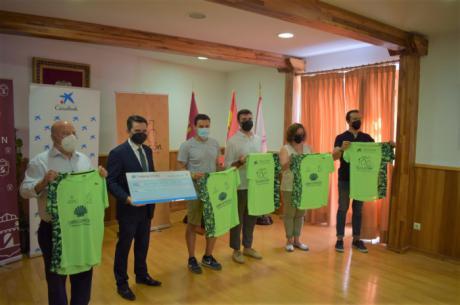 El Ayuntamiento de Tarancón apoyo una nueva edición del Camino de Santiago junto a Nueva Luz y La Caixa