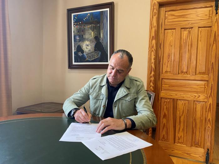 López Carrizo ofrece a Su Majestad el Rey Felipe VI la presidencia de honor del centenario como Noble Ciudad