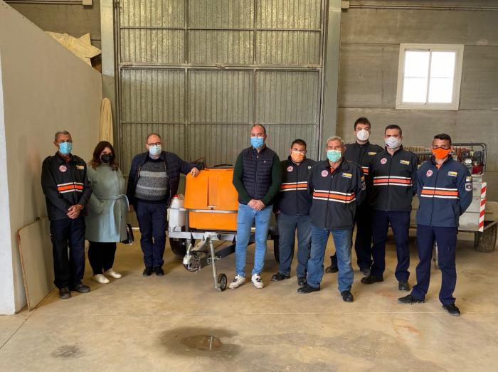 Se dota a la Agrupación de Protección Civil de Casasimarro con un carro con depósito de agua para extinción de incendios