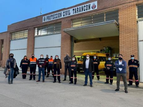 La Agrupación de Protección Civil de Tarancón recibe nuevos equipos de uniformidad