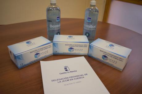 Se repartirán 3.600 mascarillas y 3.600 hidrogeles para la realización de las pruebas EVAU en la provincia