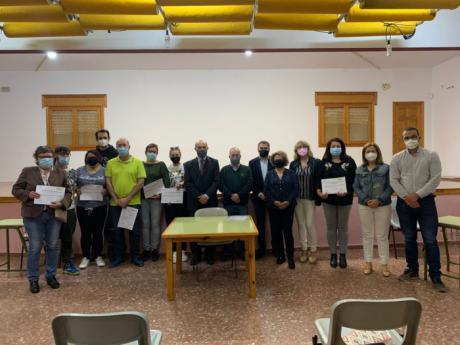 Junta y Ayuntamiento de Landete trabajan en la rehabilitación y saneamiento de edificios municipales a través del programa RECUAL