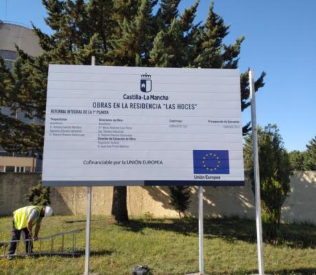 Comienzan las reformas y acondicionamiento de la residencia ´Las Hoces´ por un importe de alrededor de 1,6 millones de euros