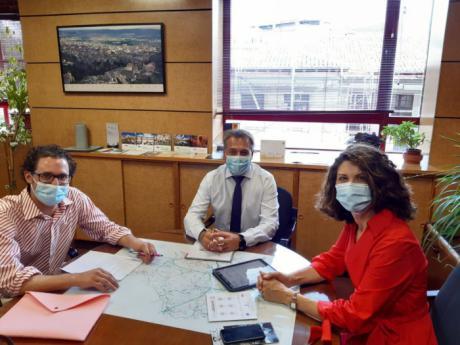 La Junta anima al chef conquense Fran Martínez a solicitar las ayudas del Plan Adelante para la puesta en marcha de su nuevo proyecto empresarial