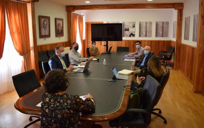 """Junta y Ayuntamiento de Tarancón trabajan en materia de Urbanismo para """"acometer actuaciones que permitan el desarrollo económico del municipio"""""""