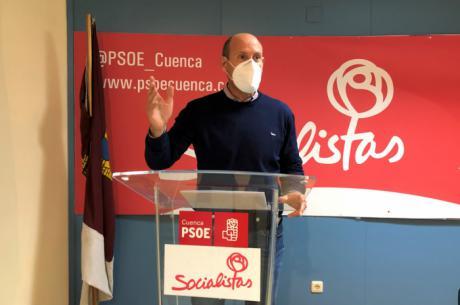"""El PSOE de Cuenca califica de deleznable que el PP """"como siempre"""" utilice las desgracias para hacer política rastrera"""