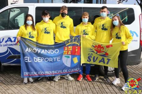 Los deportistas becados por la Diputación de Cuenca son 17 de la capital, 5 son de Tarancón y 7 son del resto de localidades
