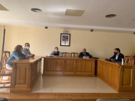 Torralba pone en valor los proyectos en materia de empleo del Ayuntamiento de Talayuelas de la mano del Gobierno regional