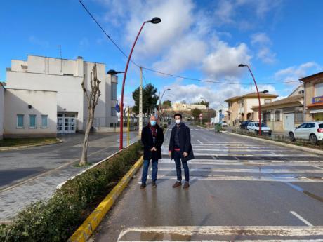 La Junta acondiciona y cede al Ayuntamiento de Minglanilla dos tramos de la CM-211 a su paso por la localidad