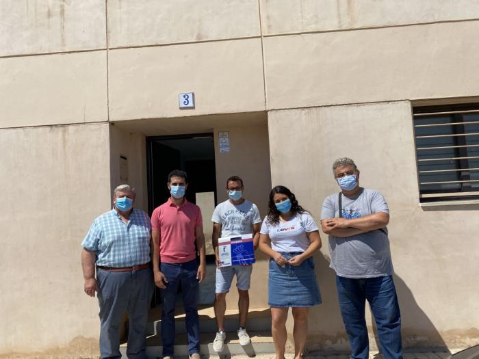 Se entrega una vivienda de protección oficial en el municipio de Villamayor de Santiago