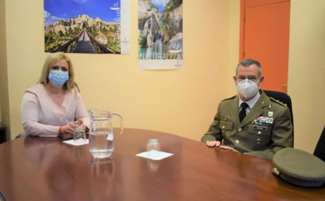 El Gobierno regional agradece al subdelegado de Defensa, Ángel Cantera, su trabajo por la provincia